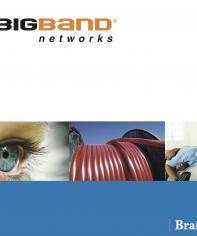 bigband guidelines